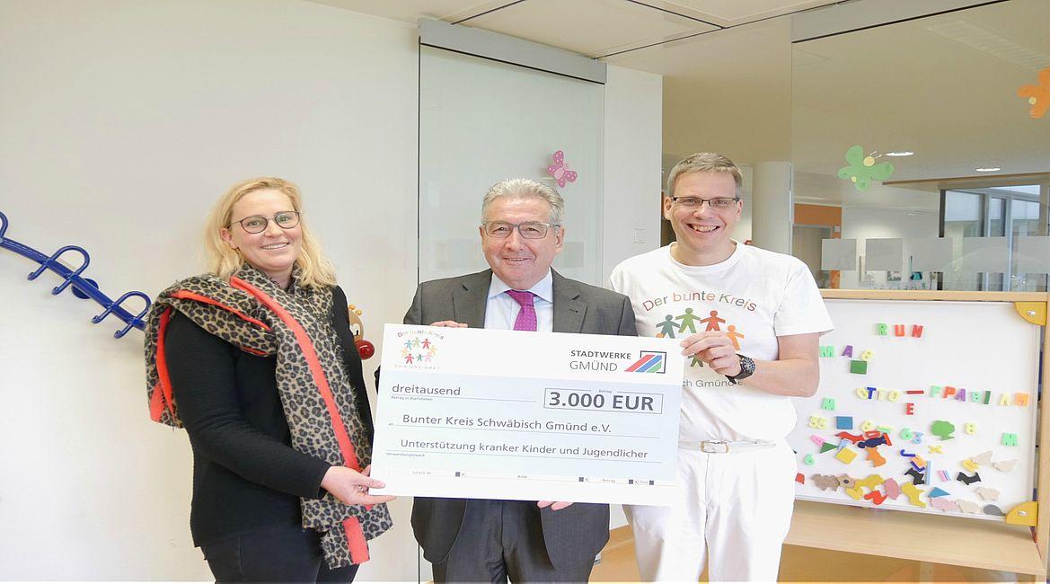 Stadtwerke Gmünd unterstützen Familien mit kranken Kindern ...